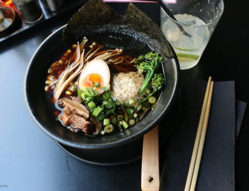eating ramen, japanese inspiration…in Porto