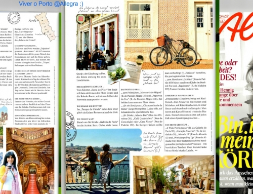 #Viver o Porto on a german magazine – sharing Porto to the world!
