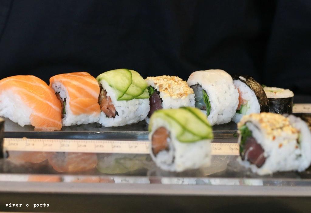 mercado beira rio sushi no mercado