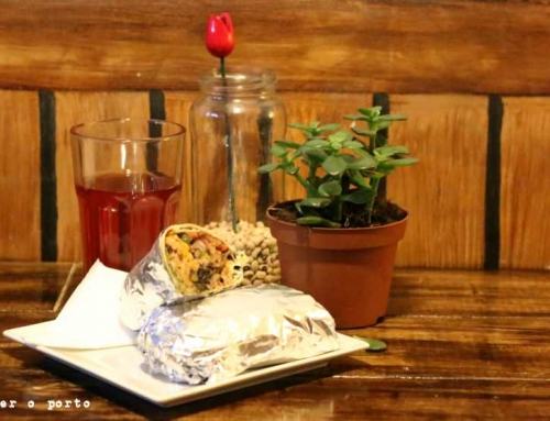 O Burrito, vegan kitchen, in Porto, yey! :)