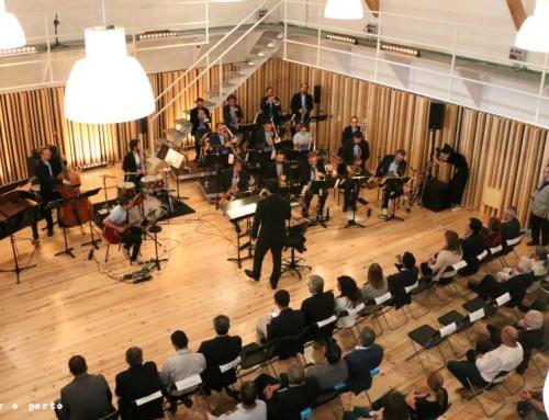 Orquestra de Jazz de Matosinhos leva o jazz para a Real Vinícola, o novo quarteirão das Artes em Matosinhos