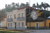 Most Art Hostel em Leiria