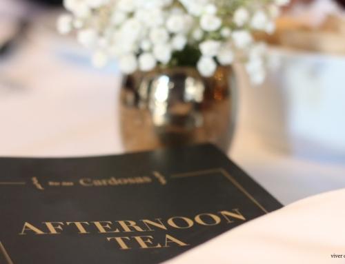 Afternoon Tea, no Bar das Cardosas – o bar que se abre à cidade