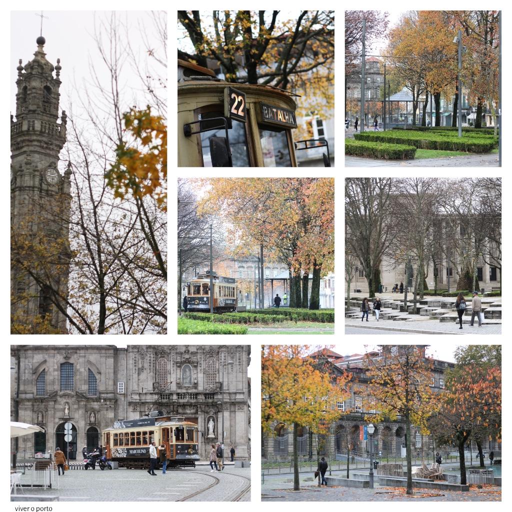 Outono na cidade do Porto