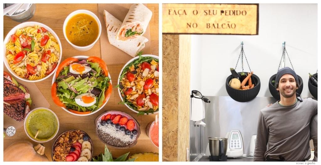 Take Aways Vegetarianos no Porto