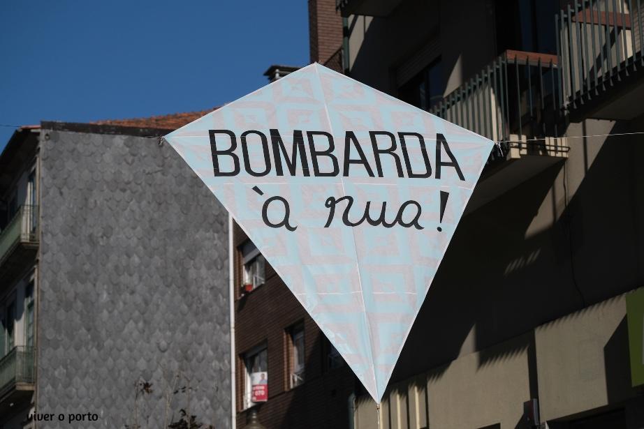 Bombarda à Rua