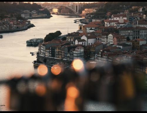 atravessar a ponte, e ver o Porto, desde a Serra do Pilar